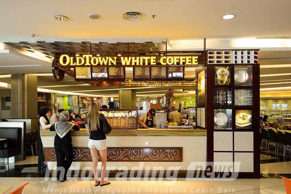 Foto: Ilustrasi gerai Basic Oldtown White Coffee /Dok: indotrading.com