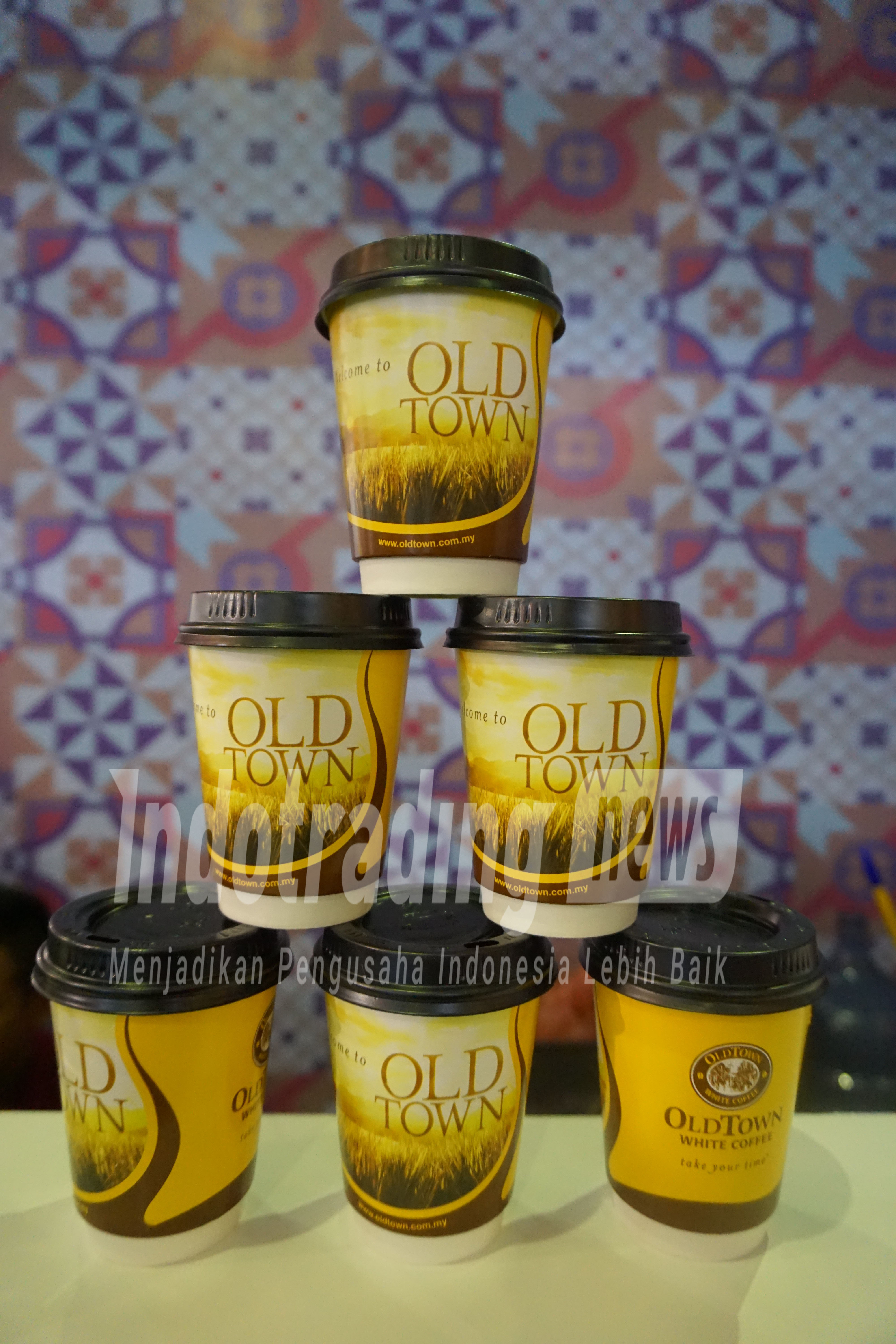 Foto: Menu white coffee di Oldtown White Coffee /Dok: indotrading.com