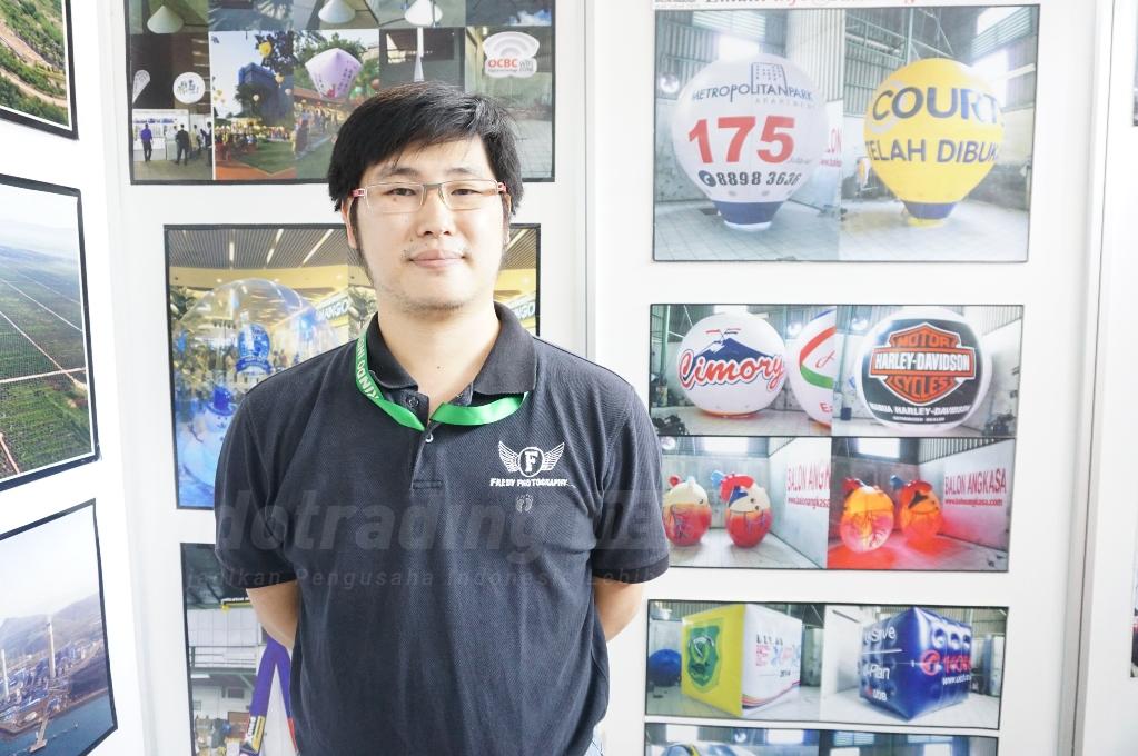Balon Angkasa: Pelopor Industri Balon Udara Promosi yang Laris Manis Hingga Singapura