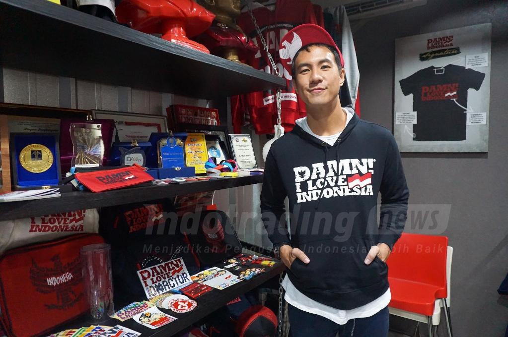 Damn! I Love Indonesia: Bisnis Kaos Ala Daniel Mananta yang Sudah Merambah Korea hingga Amerika