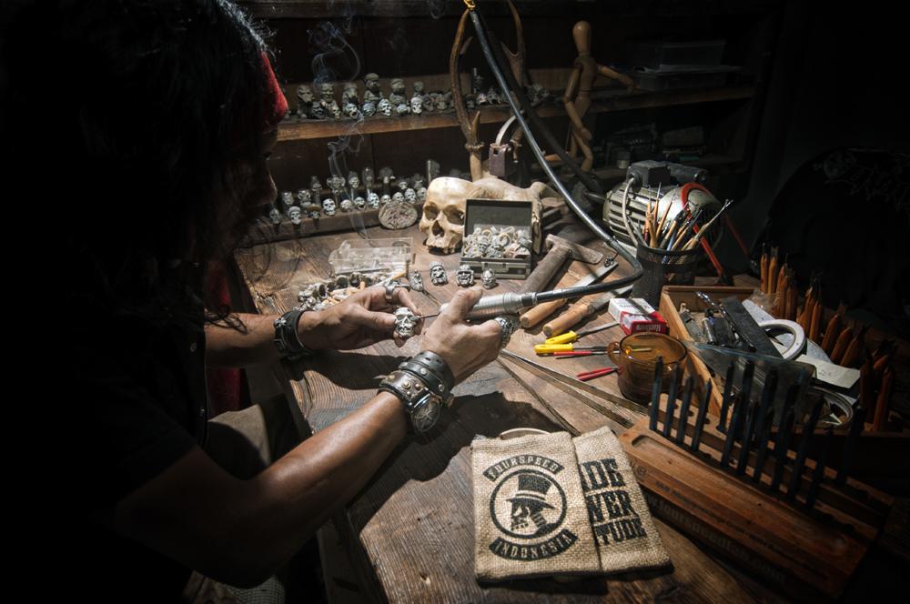 Foto: Proses Produksi Fourspeed Metalwerks/ Dok: Fourspeed Metalwerks