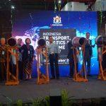Pameran Indonesia Transport, Logistic & Maritime Week (ITLMW) 2017 Resmi Dibuka