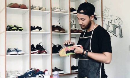 bisnis cuci sepatu sneaklin