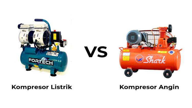 perbedaan kompresor listrik dan angin 3