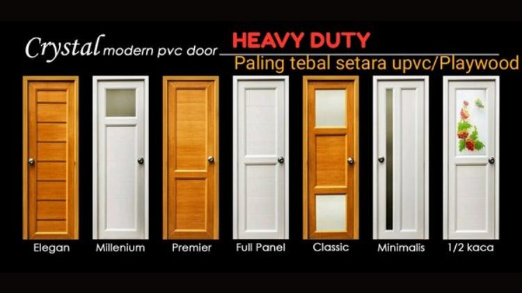 jenis pintu pvc 7