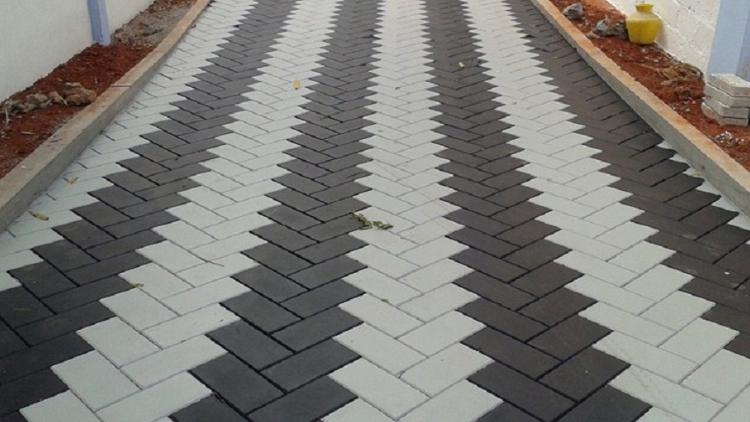 paving block hunian rumah bata