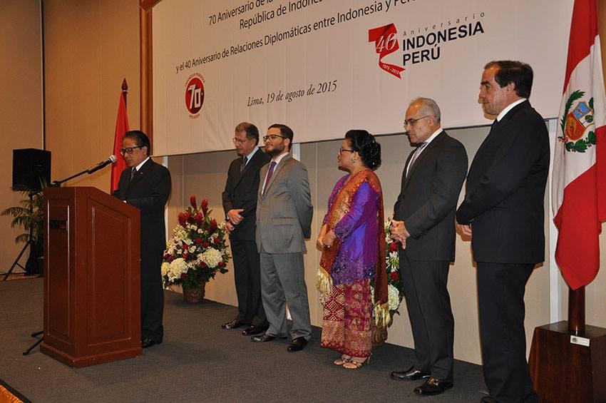 Resepsi Diplomatik Indonesia-Peru/Dok: Kemenlu