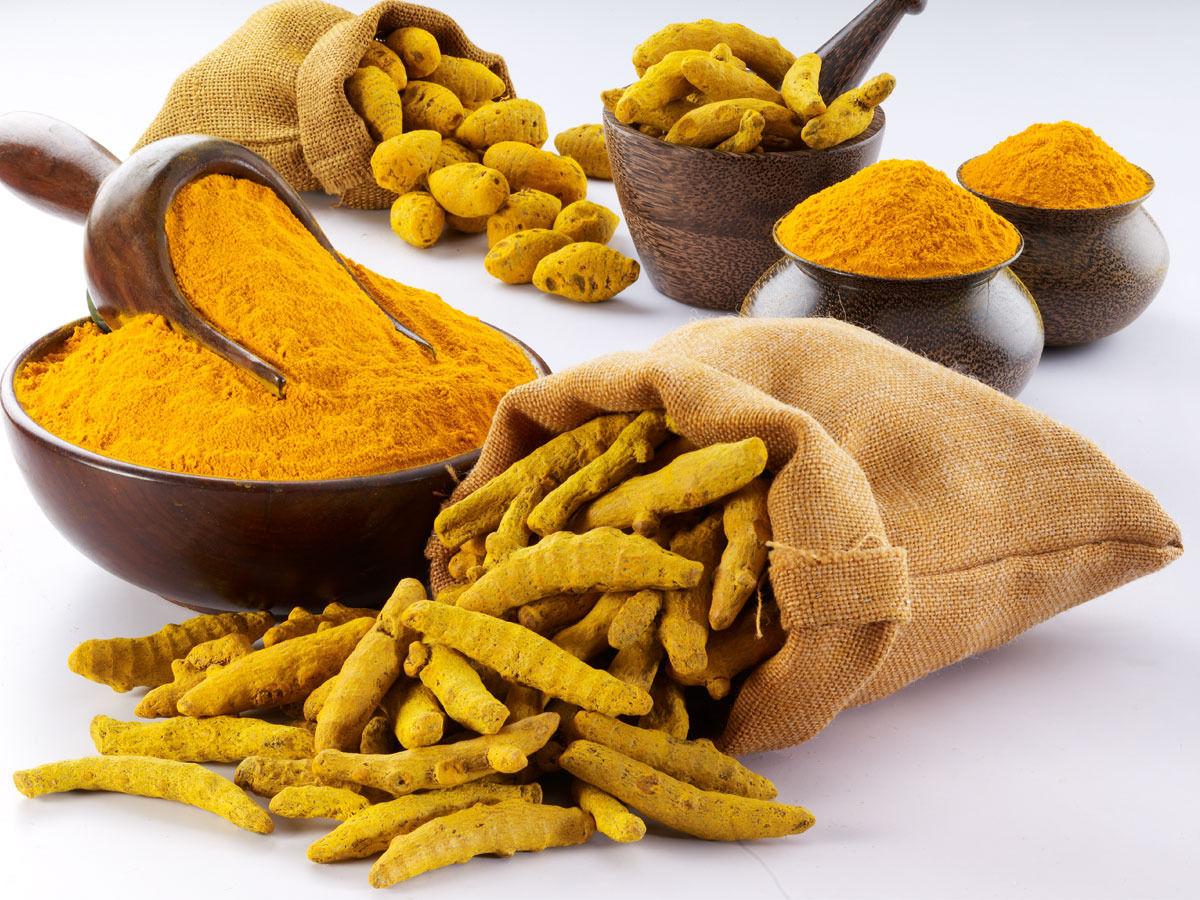 Kunyit adalah salah satu tanaman herbal. Foto: wikipedia