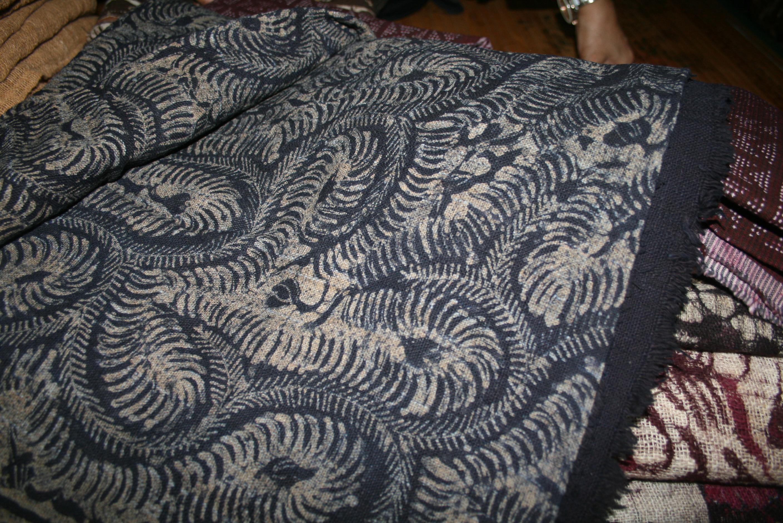 Foto: Salah satu motif kain Gedog buatan Siti Fatimah Nasih/Dok: indotrading.com