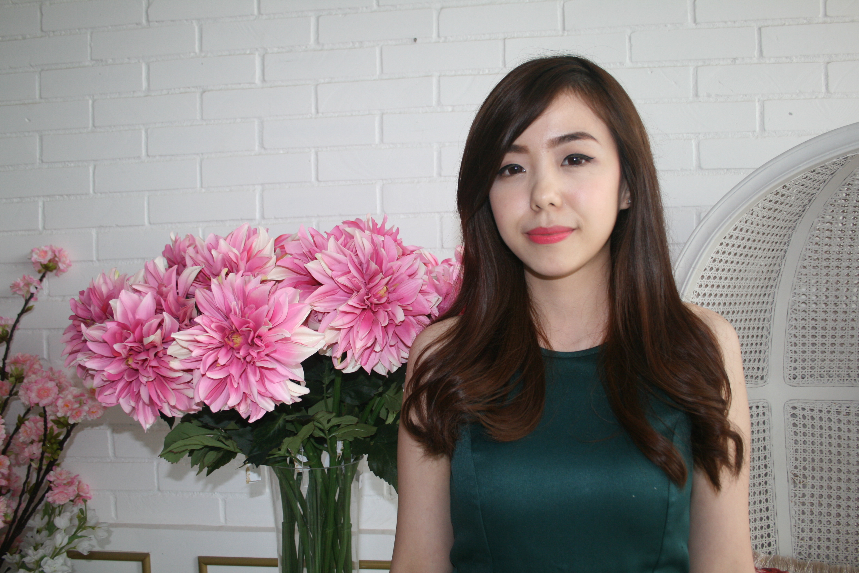 Foto: Jessica Novie pemilik La Madame Florist/Dok: indotrading.com