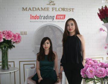 Foto: Jessica Novia dan Peggy Novia pemilik La Madame Florist/Dok: indotrading.com