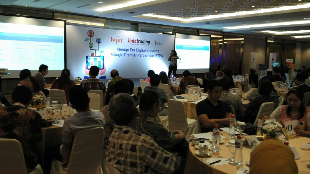 Foto: Acara workshop berlangsung meriah/ Dok: Indotarding.com
