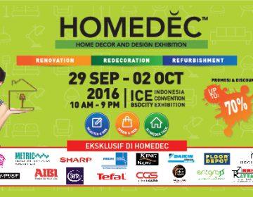 Foto: Pameran HOMEDEC 2016/Dok: www.homedec.com