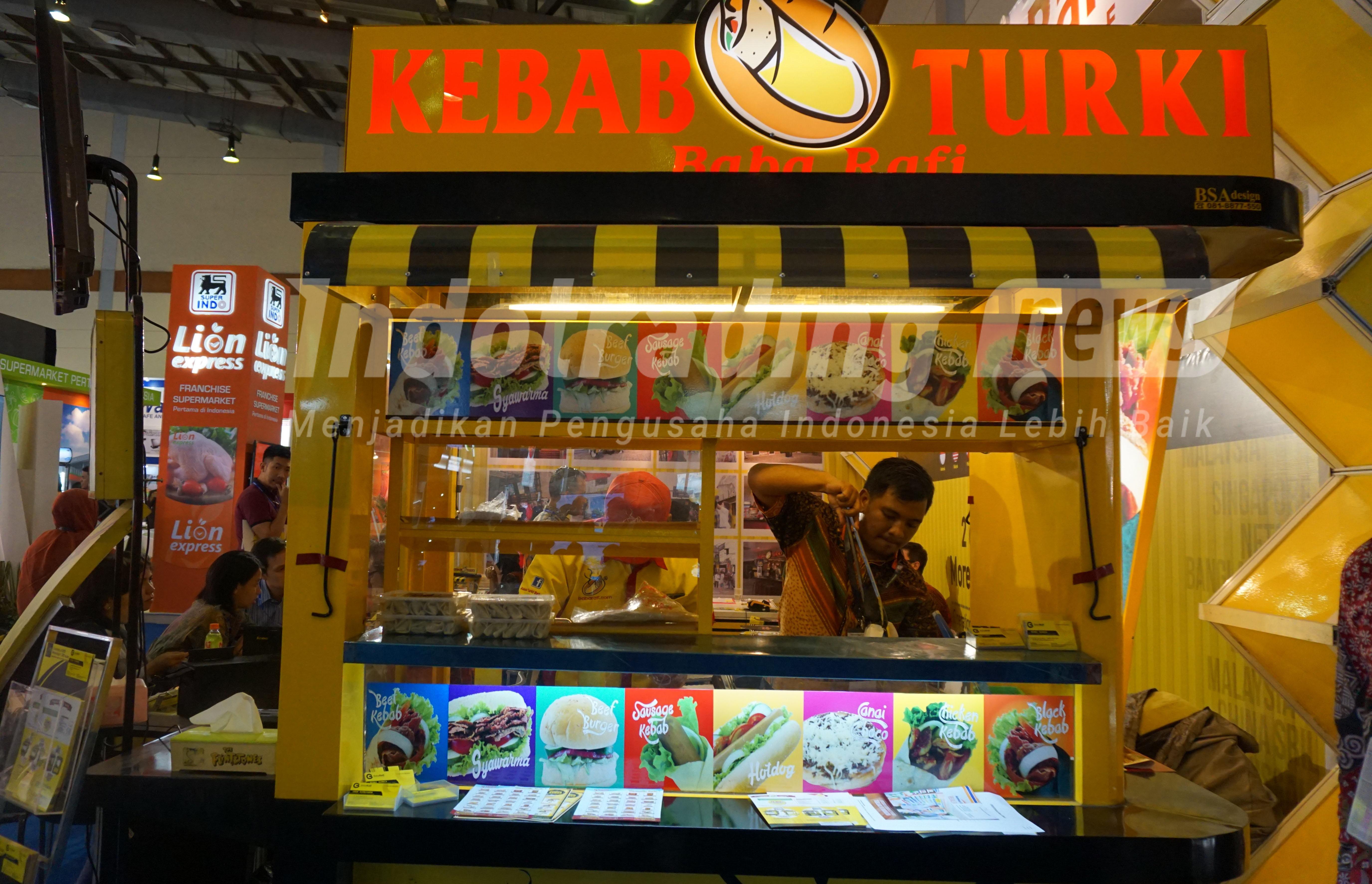 Foto: Gerai Kebab Turki Baba Rafi Dok/indotrading.com