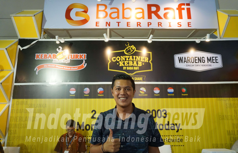 Foto: Pemilik Kebab Turki Baba Rafi, Hendy Setiono Dok/indotrading.com