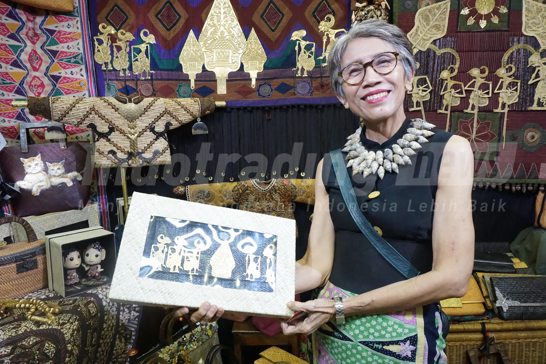 Foto: Pemilik Datie Handicraft, Kirono Arundhatie/Dok: indotrading.com