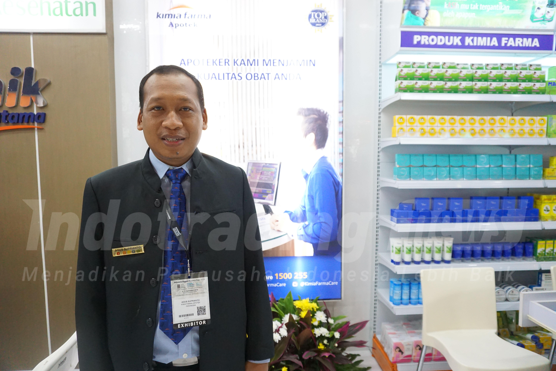 Foto: Asistant Manager Outlet and Development PT Kimia Farma (Persero) Tbk Agus Suprianto/Dok: indotrading.com