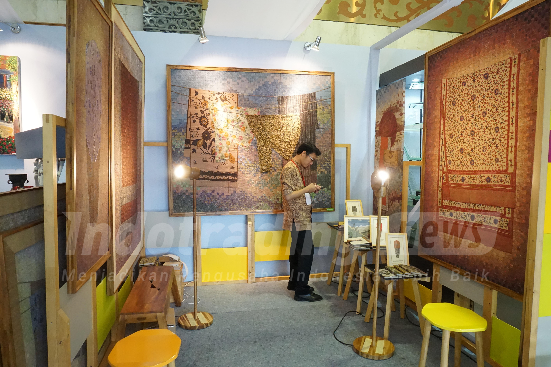 Foto: Berbagai kolase batik karya Fatch Craft/Dok: indotrading.com