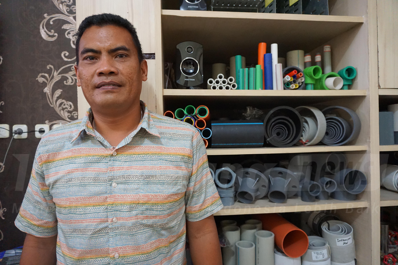 Foto: Direktur Utama CV. Raja Pipa Indonesia, Darwin Parluhutan Manurung/Dok: indotrading.com