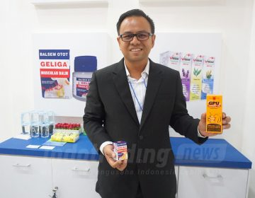 Foto: Export Division Head PT Eagle Indo Pharma (CAP LANG), Firman Marpaung/Dok: indotrading.com