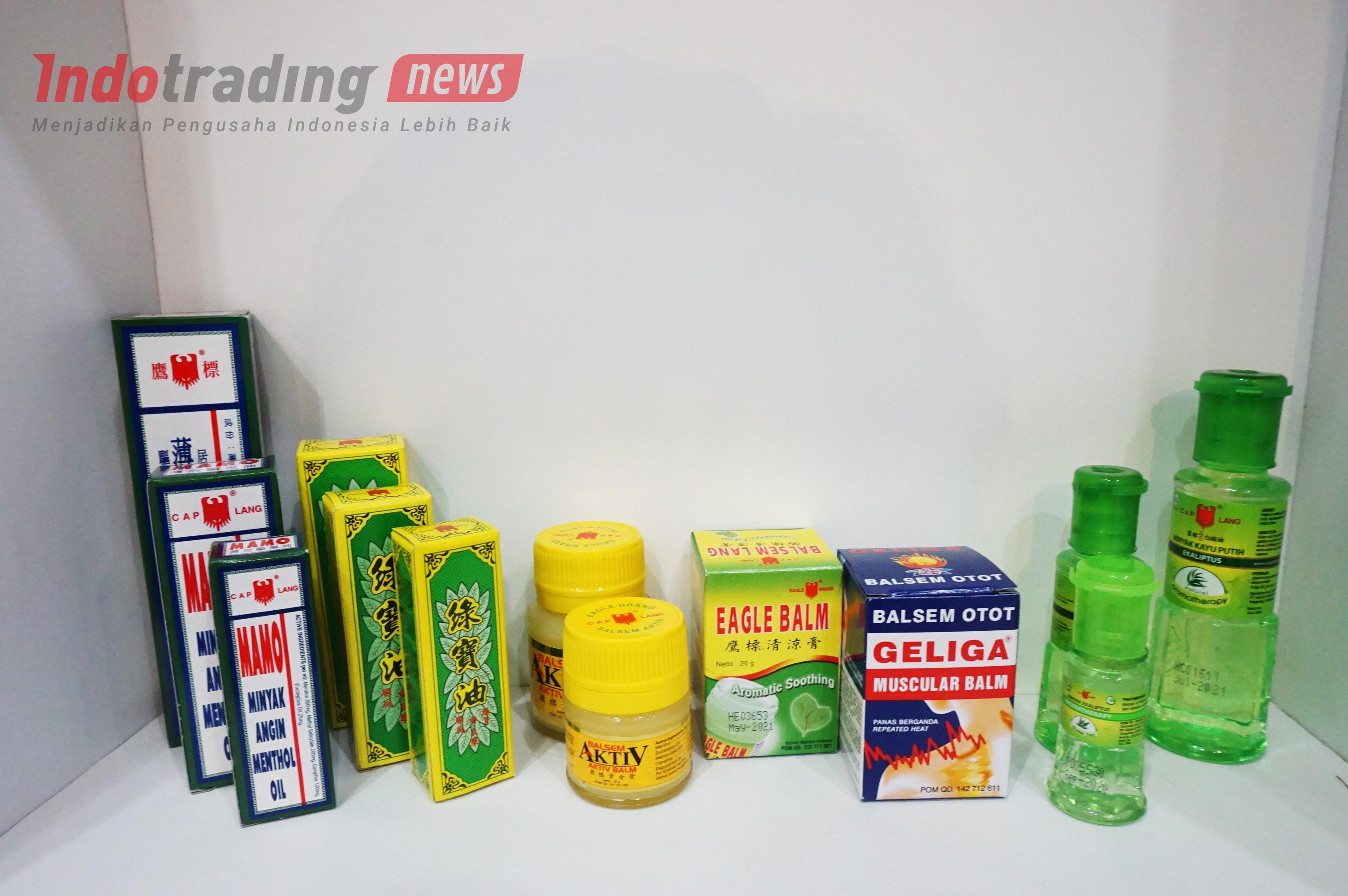 Foto: Berbagai macam produk Cap Lang produksi PT Eagle Indo Pharma/Dok: indotrading.com
