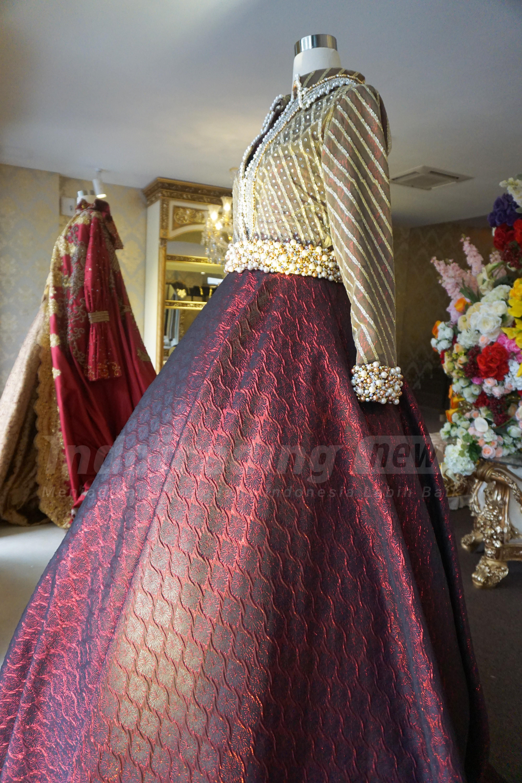 Foto: Salah satu busana karya Anniesa Desvitasari Hasibuan/Dok: indotrading.com