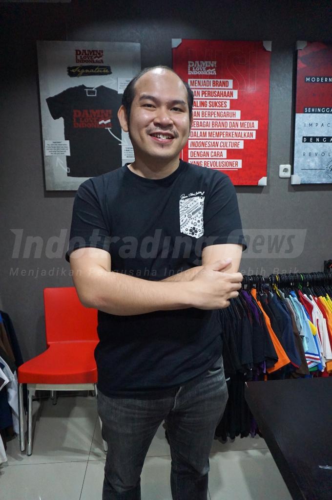Foto: Win Satrya, President Director Damn! I Love Indonesia/ Dok: indotrading.com