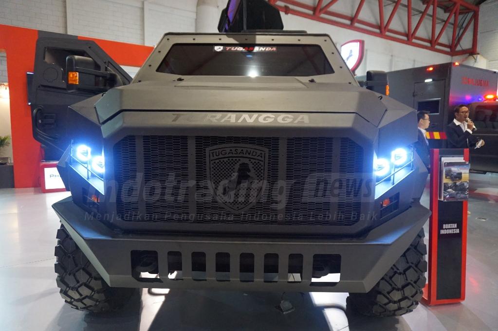 Foto: Salah satu produk buatan PT Karya Tugas Anda, Mobil APC Turangga/ Dok: indotrading.com