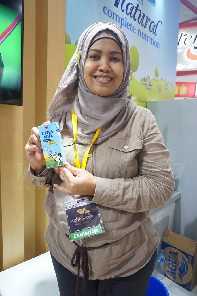 Foto: Velyna Suwinartari, Key Account Manager PT Ultrajaya Milk Industry & Trading Company TBK/ Dok: indotrading.com