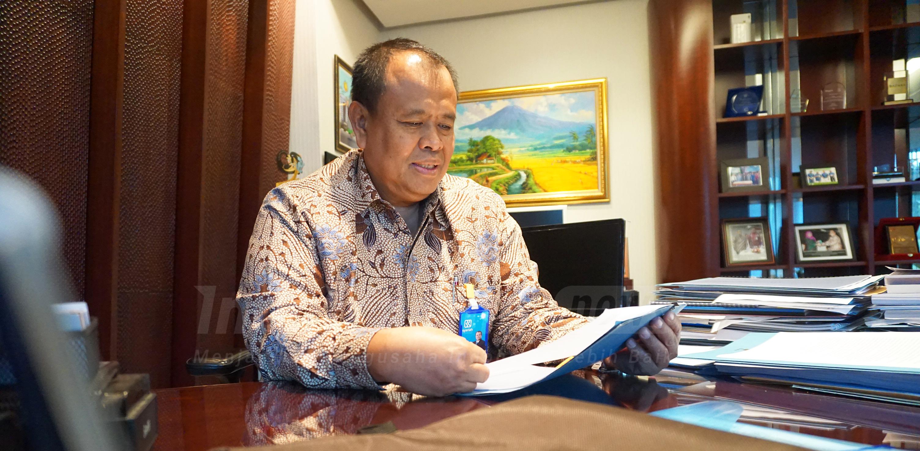 Foto: President Director Bank BRI Syariah Muhammad Hadi Santoso/ Dok: indotrading.com