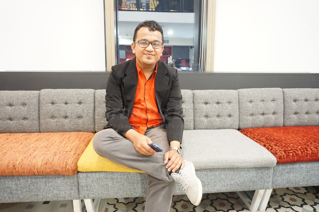 Foto: Muhammad Sya'ban, Digital Marketing Manager Indotrading/ Dok: indotrading.com