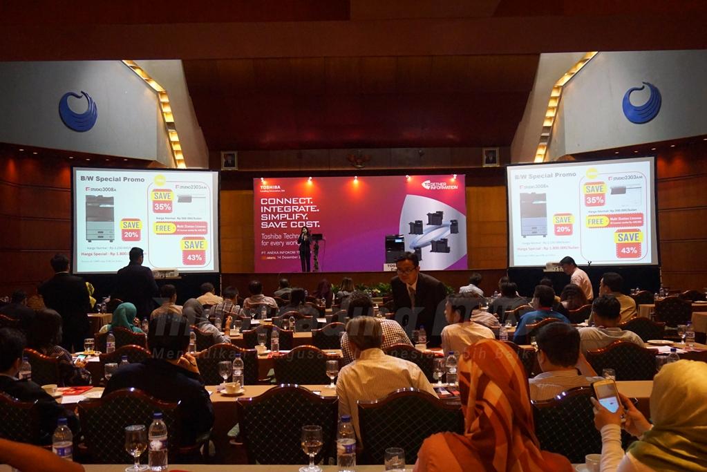 PT Aneka Infokom Tekindo Luncurkan Produk Terbaru Toshiba