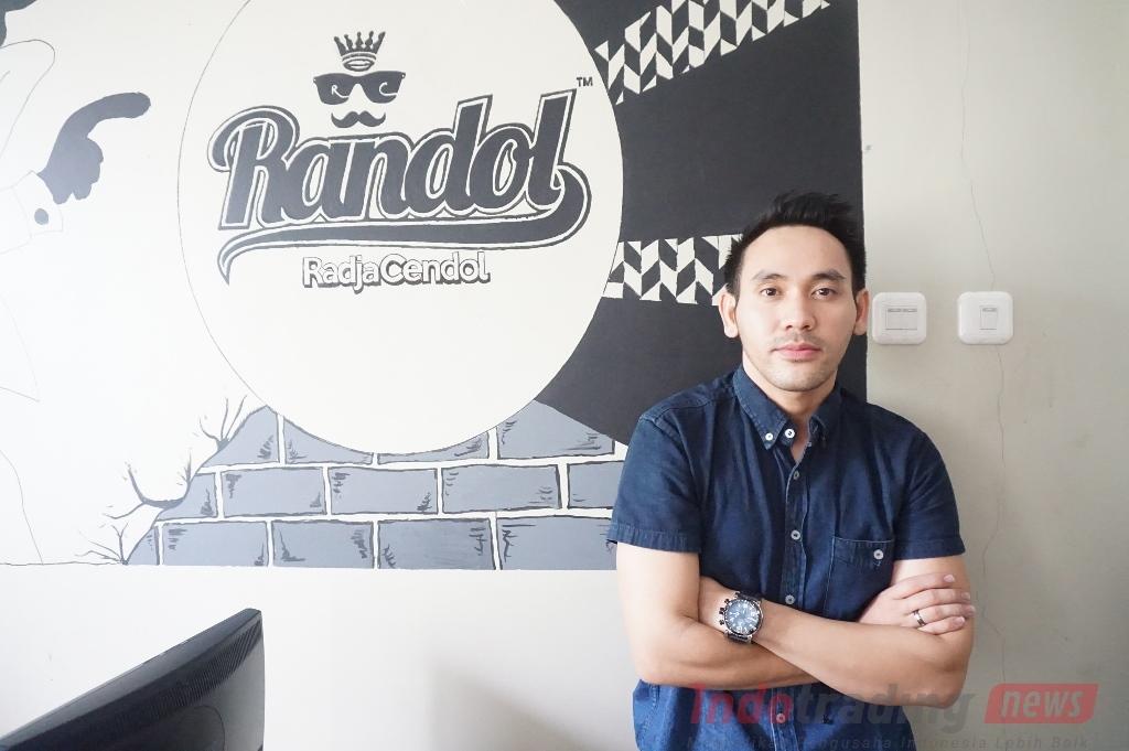 Foto: Syahputra Kamandanu Sofwan, CEO Radja Cendol/ Dok: indotrading.com