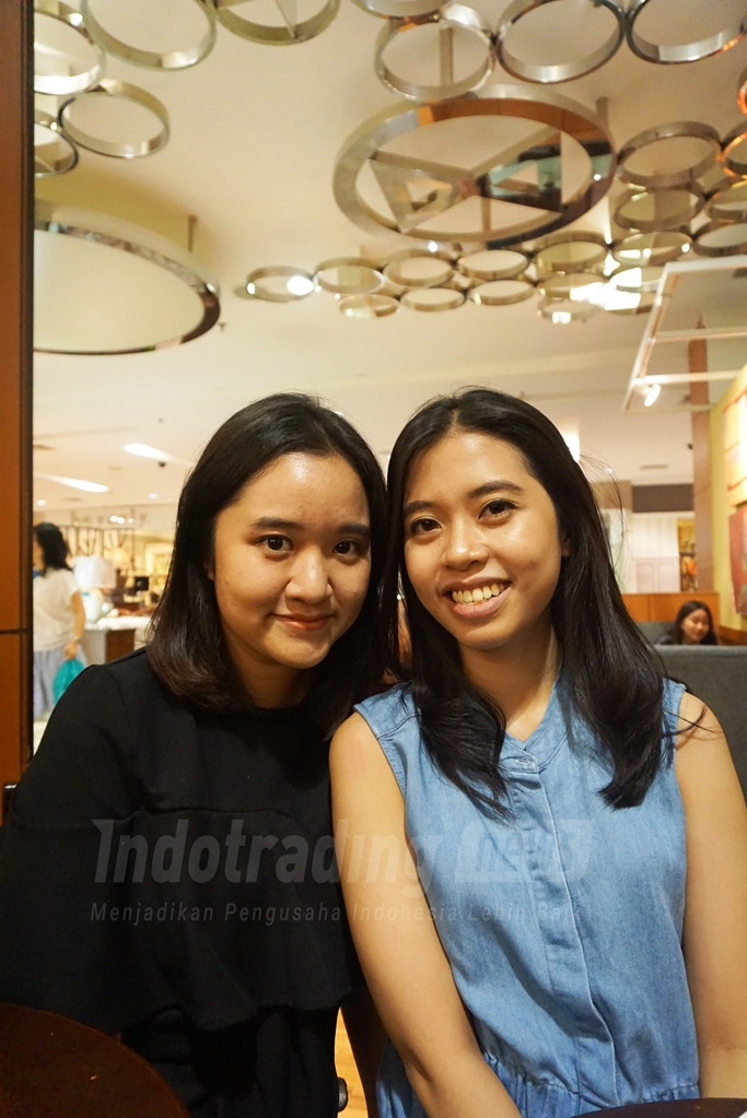 Foto: Keisha Deisra dan Karina mecca, CEO Dulcet Patisserie/ Dok: Indotrading.com