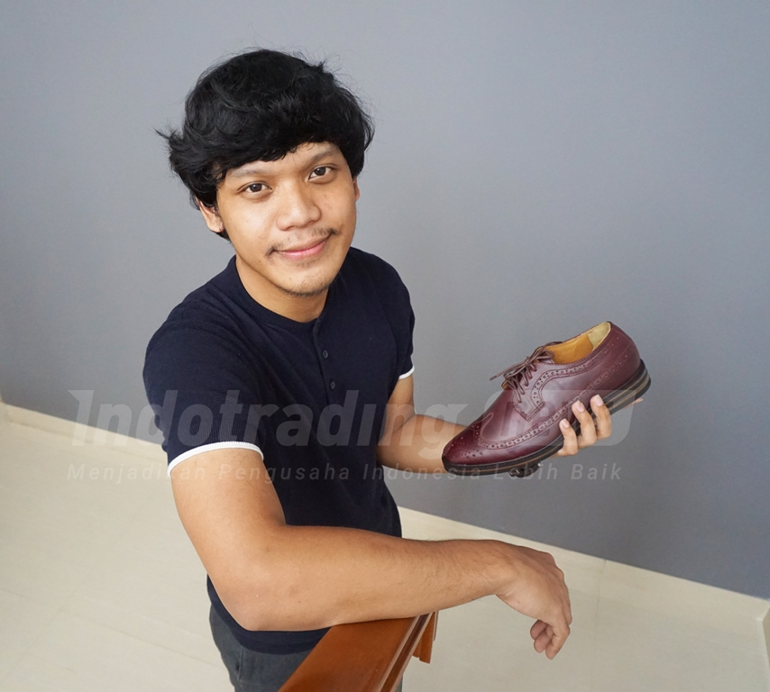 Foto: Egar Putra Bahtera, CEO Chevalier/ Dok: Indotrading.com