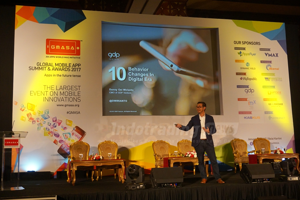 Foto: Event Global Mobile App Summit and Awards 2017/ Dok: indotrading.com