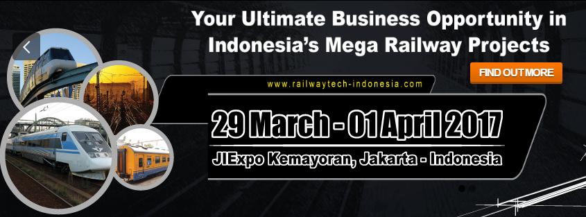 Pameran RailwayTech Indonesia 2017 Turut Memodernisasikan Perkeretaapian di Indonesia