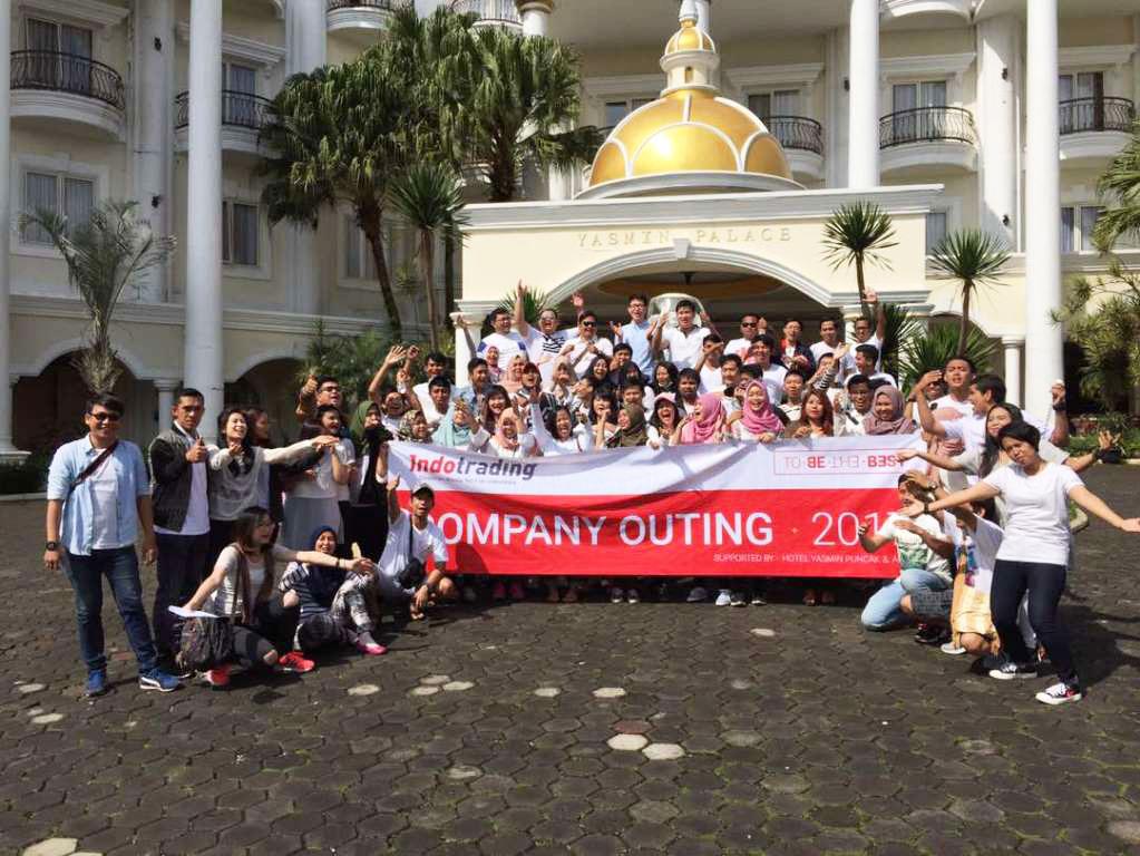 Outing Pertama, Indotrading Ciptakan Karyawan 'To Be The Best'