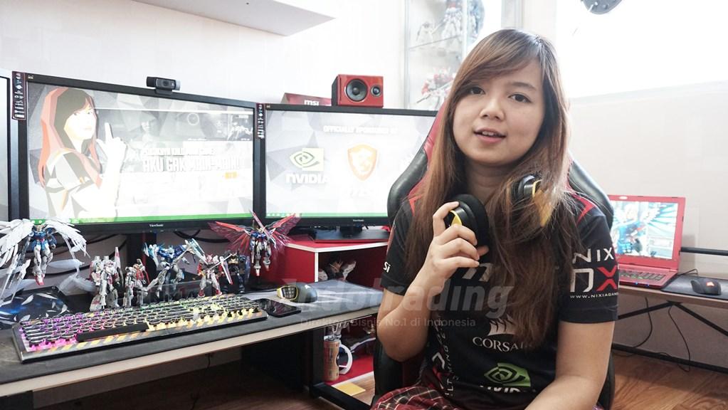 Monica Carolina: Berawal dari Hobi kini Menjadi CEO Nixiagamer