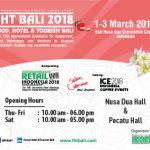 FHT (Food, Hotel & Tourism) Bali 2018 Hadirkan Networking Lebih Dari 10.000 Orang. Ayo Datang dan Meriahkan Acaranya