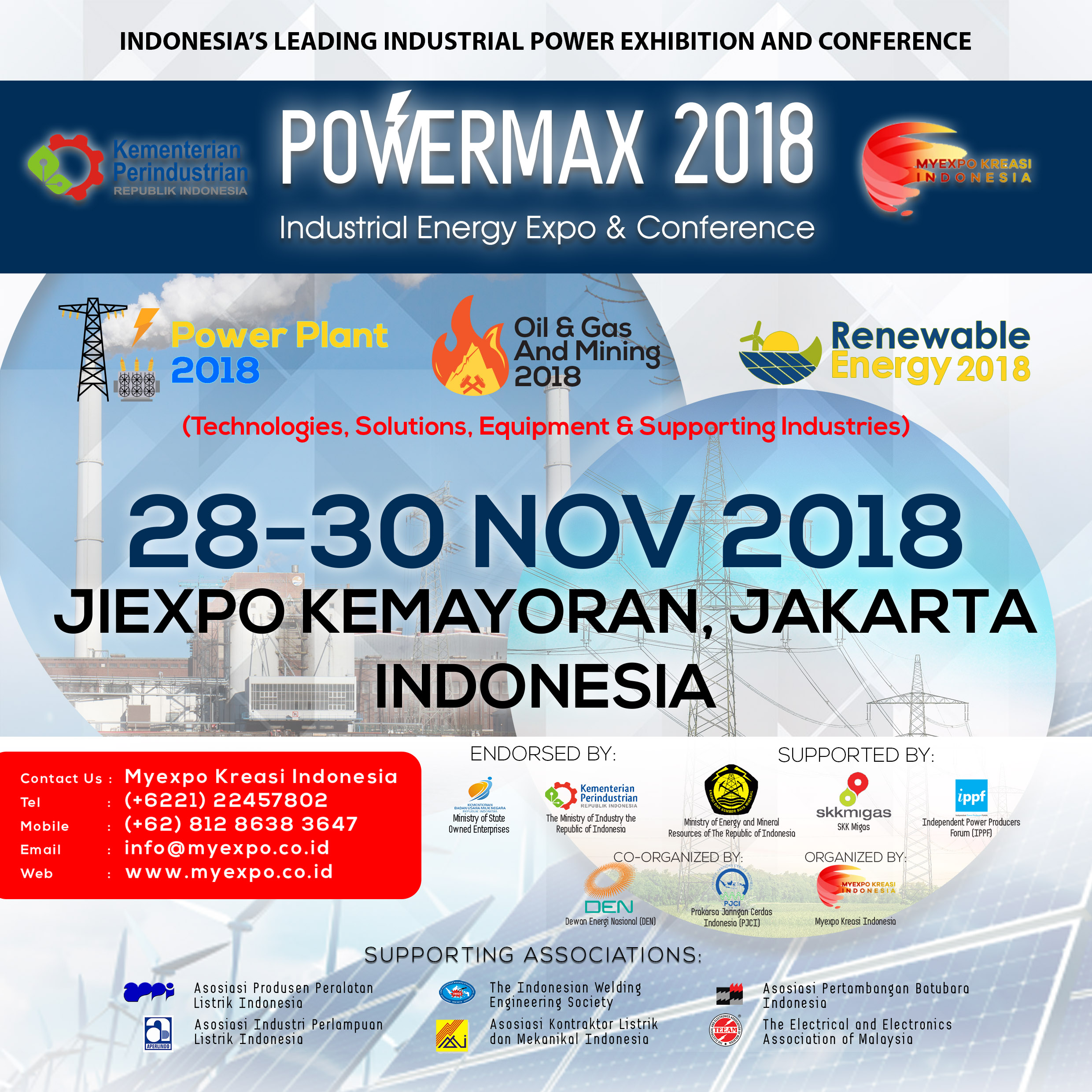 B2b Marketplace Pusat Distributor Direktori Supplier Tirai Benang Elegant Kwalitas Bagus Ampamp Sj0001 Industrial Energy Exhibition And Conference Powermax 2018